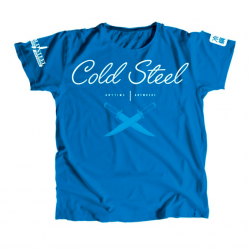 Футболка Cold Steel Cursive Blue Tee Shirt Women TK2