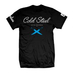 Футболка Cold Steel Cursive Black Tee Shirt TJ2
